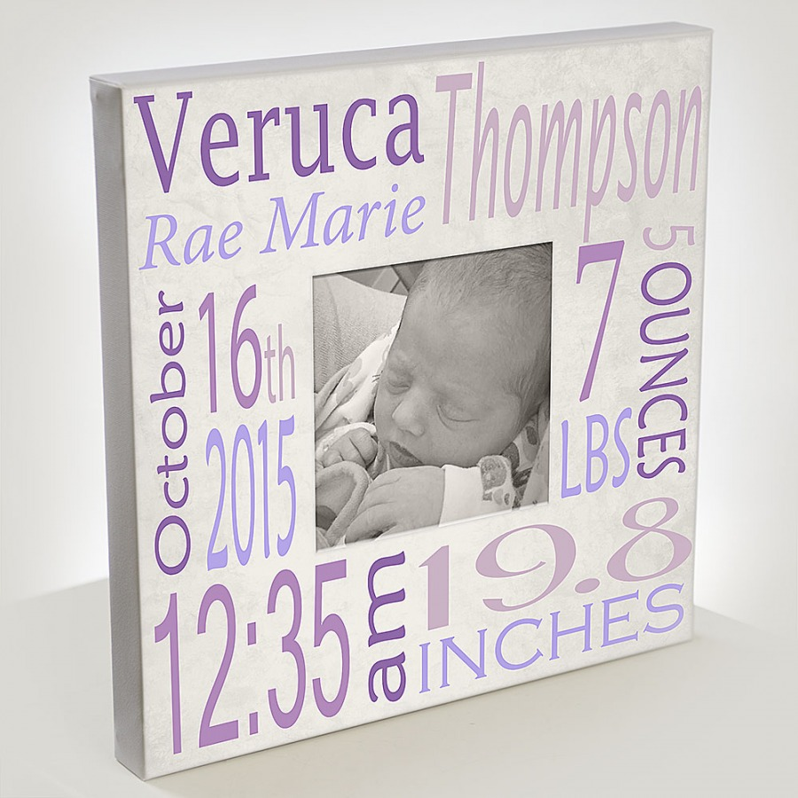 Baby's first canvas! - $89