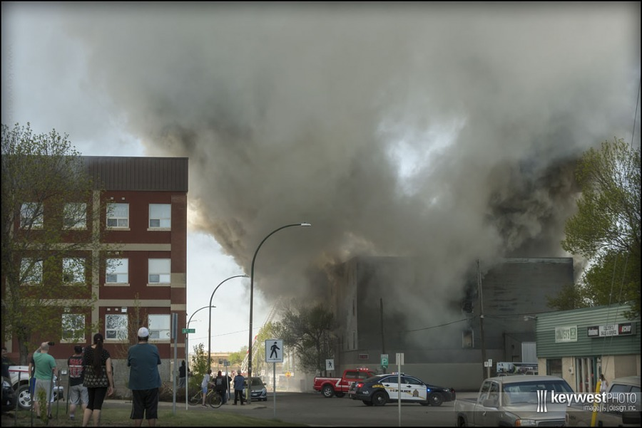 Downtown fire, may 2018